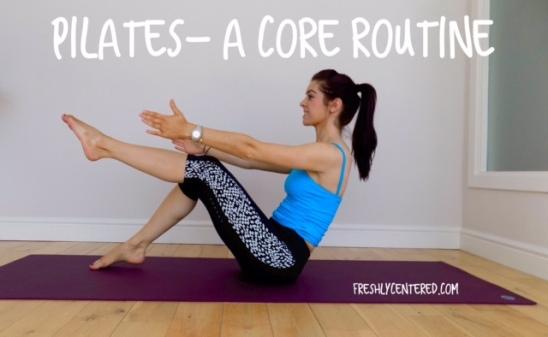 pilates-a core routine