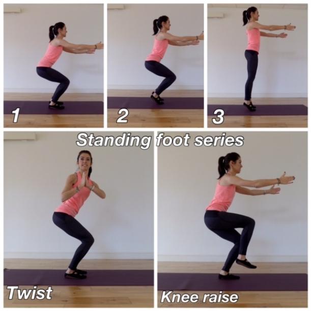 Standing foot series